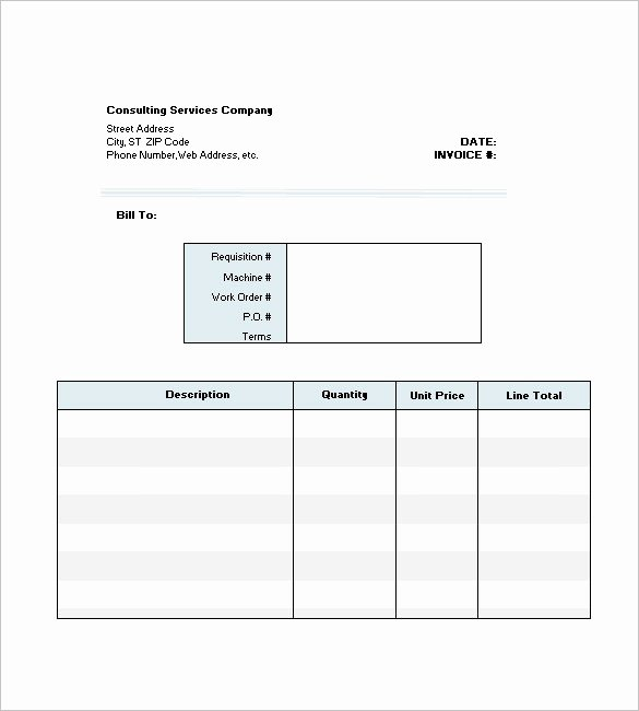 Consulting Invoice Template Word Lovely Consulting Invoice Template Word Ten Outrageous Ideas for
