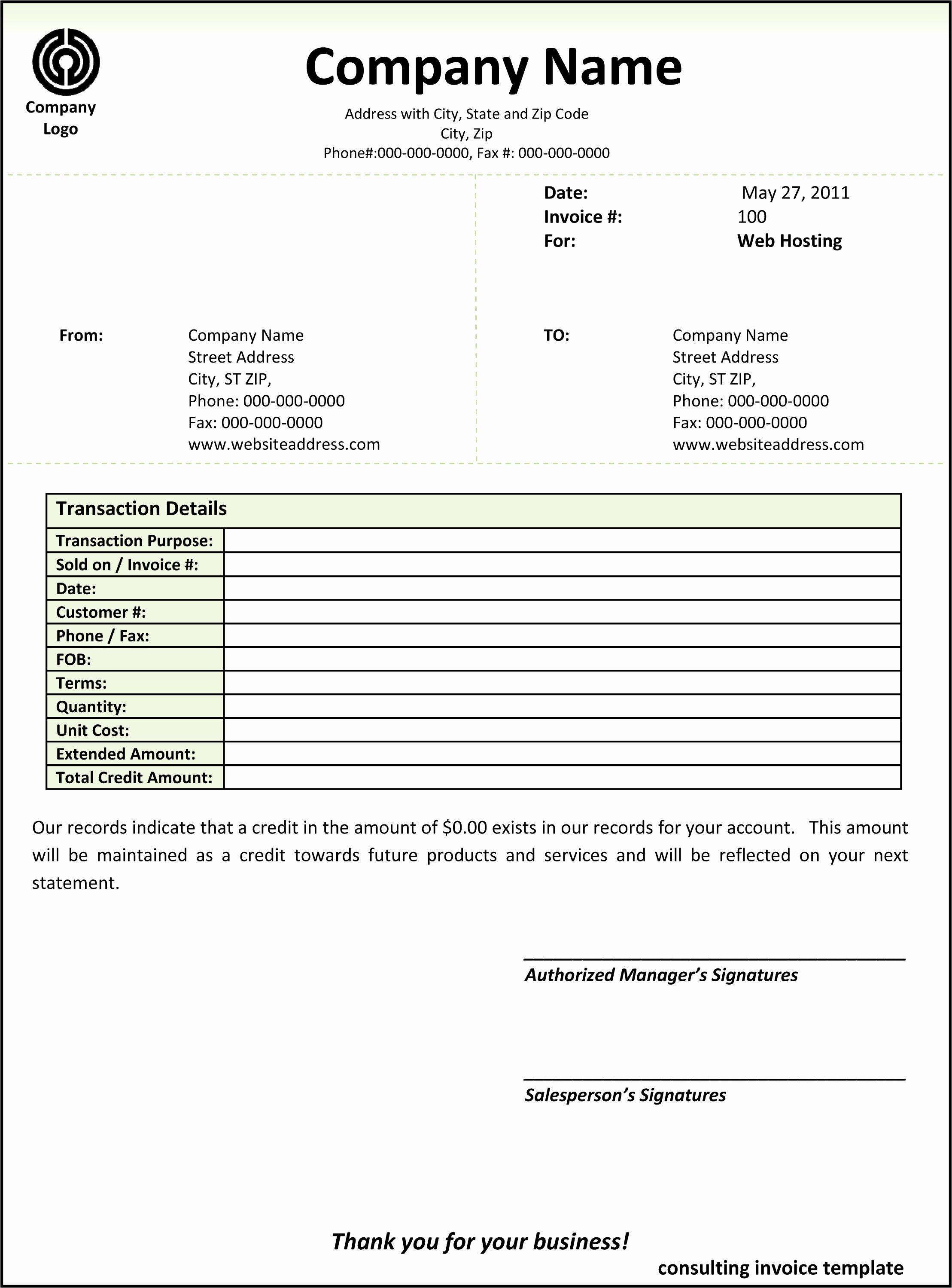 Consulting Invoice Template Word Unique Consulting Invoice Template Word