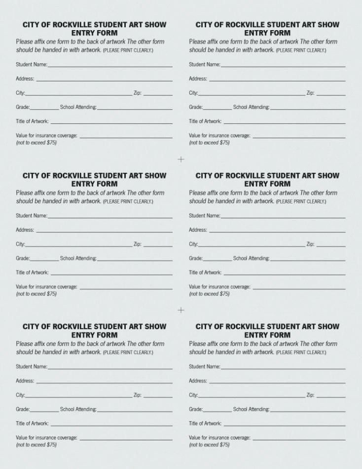 Contest Entry form Template Awesome Drawing Entry form Template
