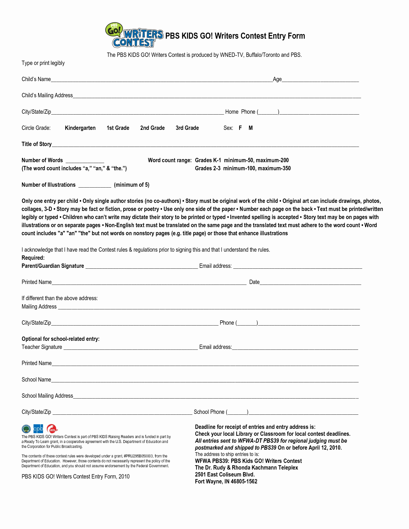 Contest Entry form Template Fresh Contest Entry form Template Door Prize Drawing Slips