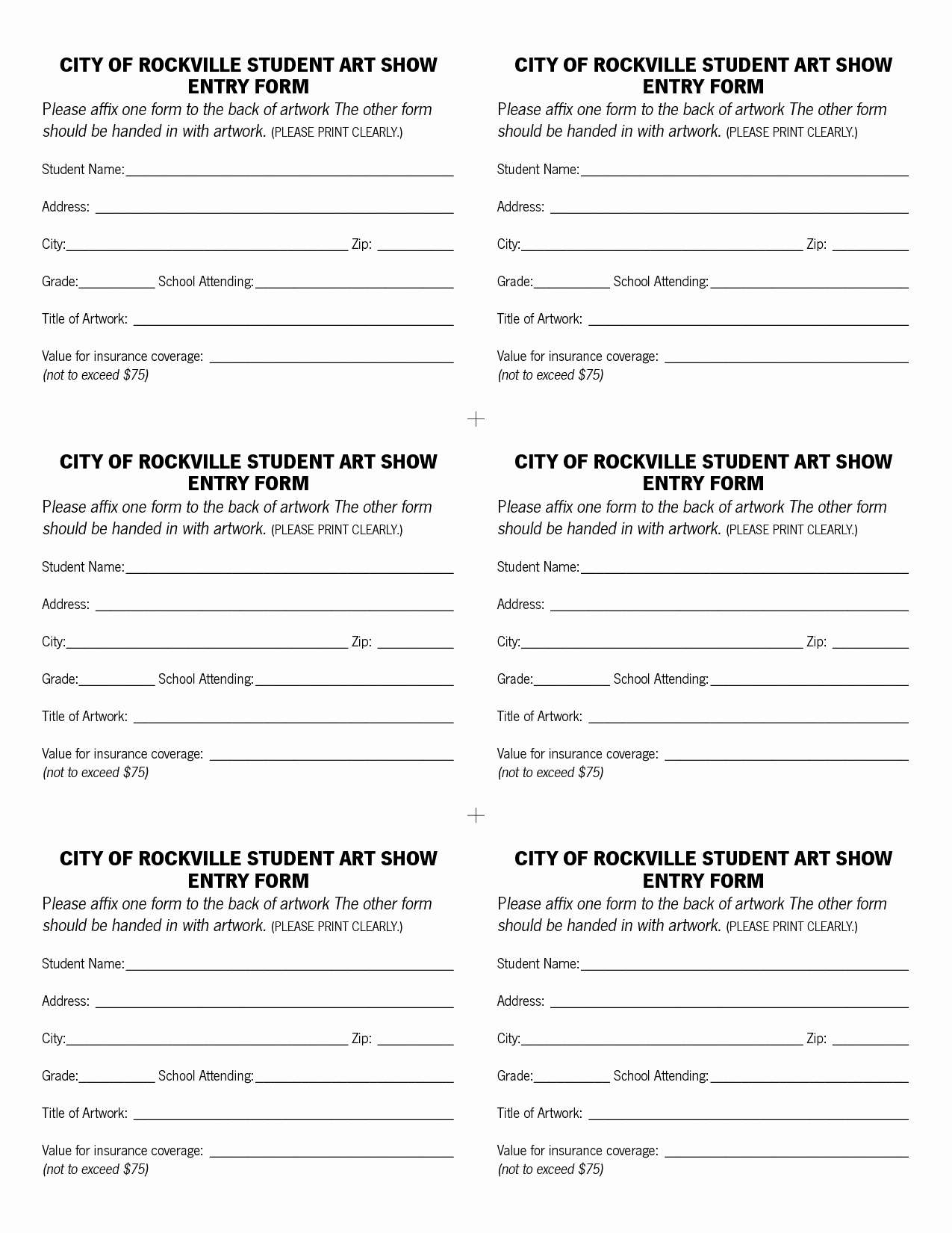 Contest Entry form Template Lovely Raffle Entry form Template