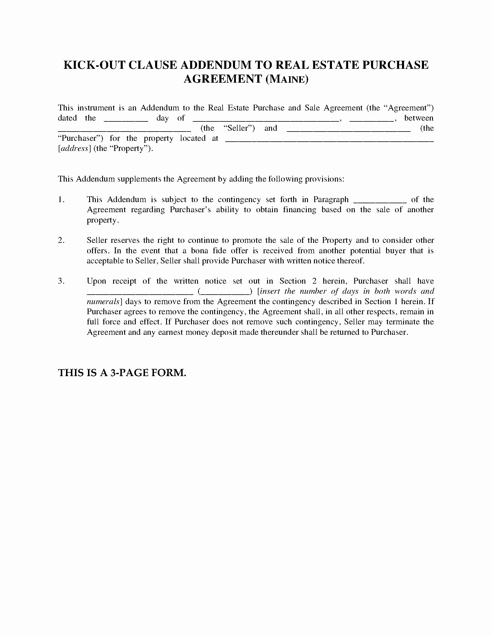 Contingency Contracting Example Luxury Real Estate Contract Template Texas Template 2976