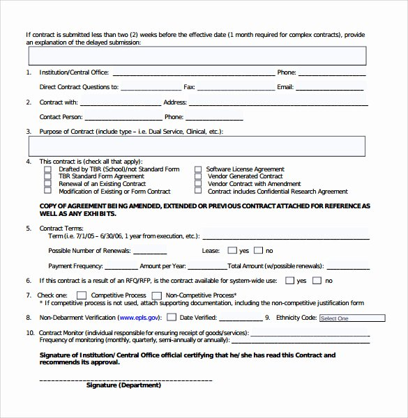 Contract Summary Template Fresh Sample Contract Summary 7 Documents In Pdf Word