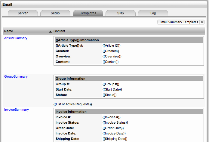 Contract Summary Template New Email Summary Templates