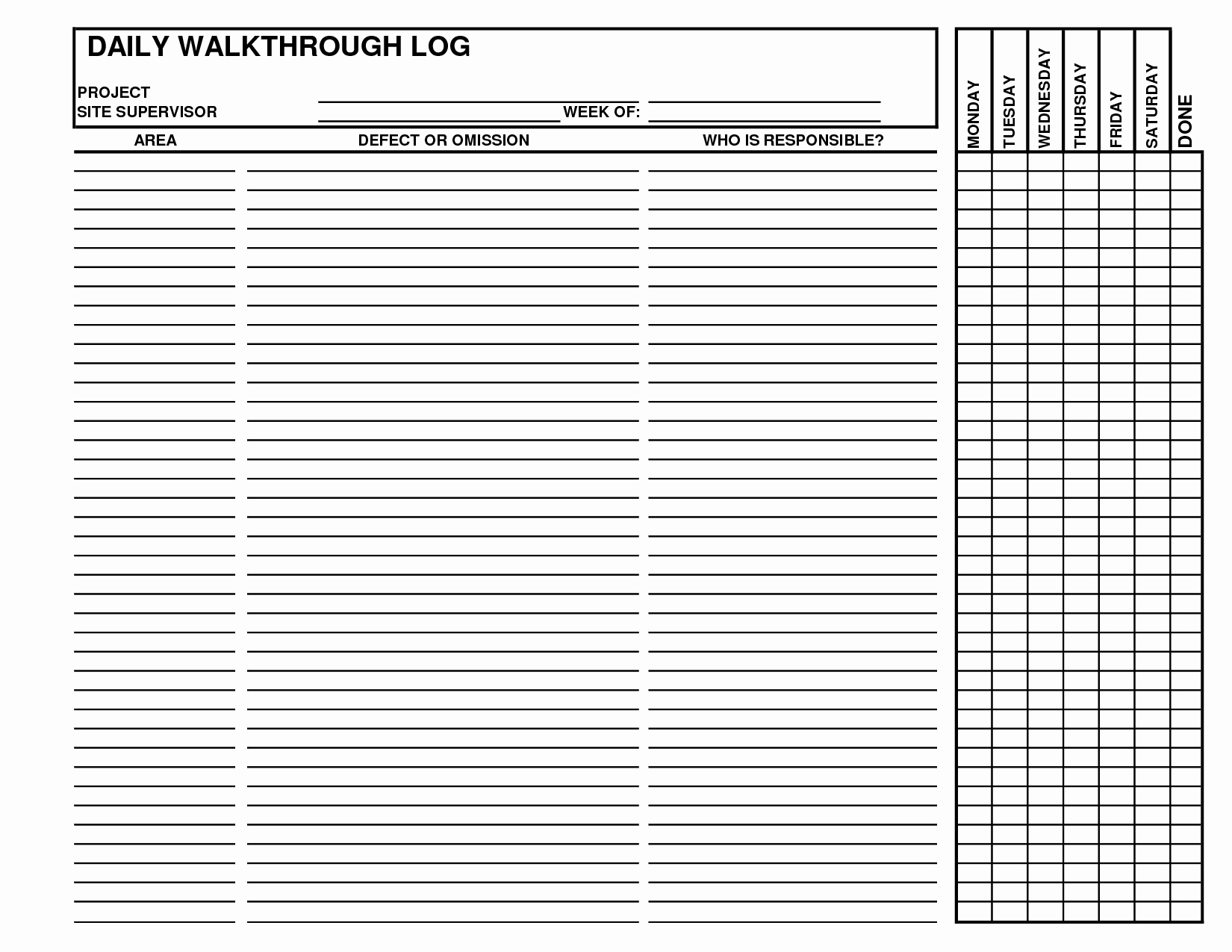 Contractors Daily Log Book Awesome Best S Of Daily Log Examples Daily Log Book
