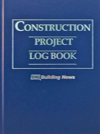 Contractors Daily Log Book Lovely Science Industry Industrial Project Management Brown