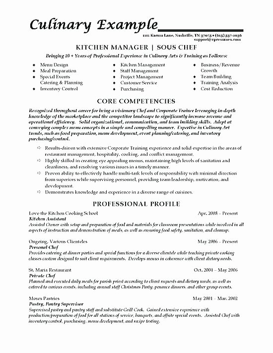 Cook Description for Resume Inspirational 96 Prep Cook Duties Resume Prep Cook Job Description 25