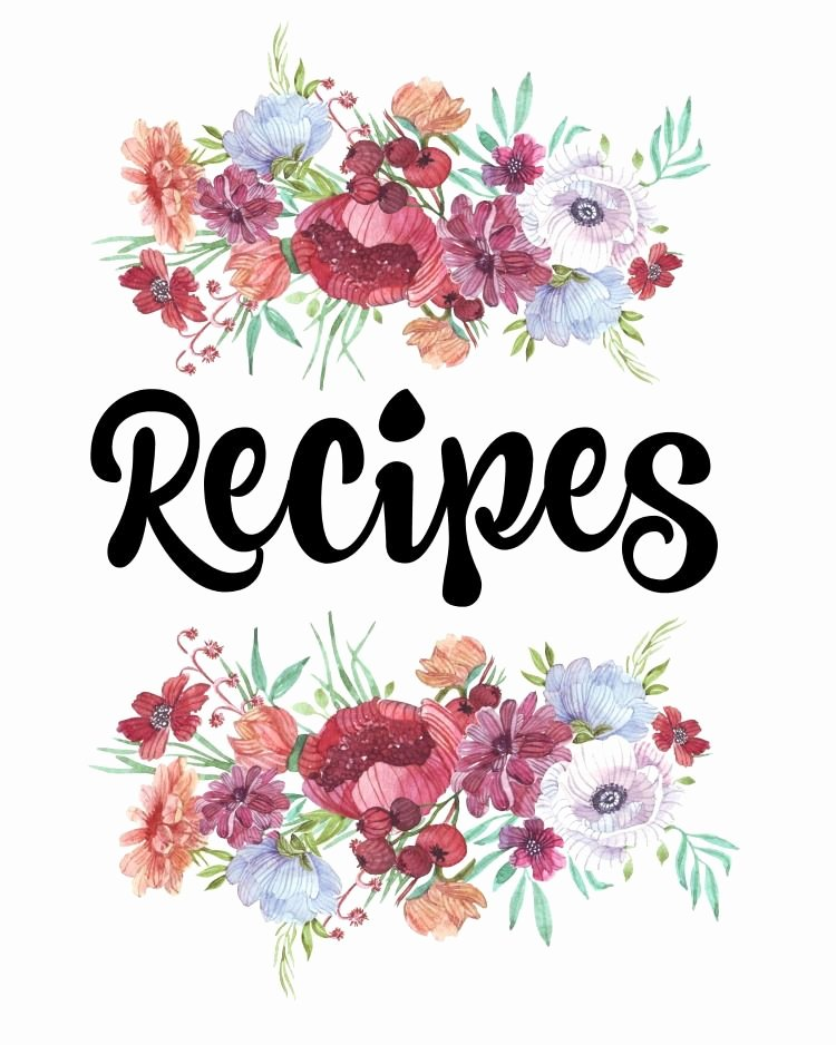 Cookbook Template Pages Beautiful Finally organize Your Recipes with This Free Printable