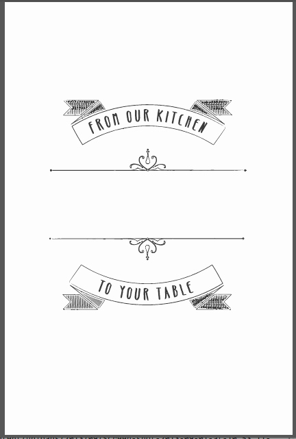 Cookbook Template Pages Elegant New Cookbook Covers are Here