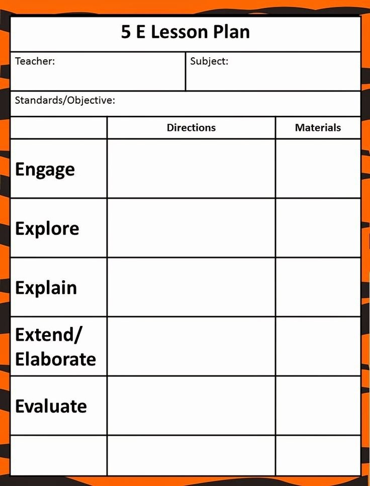 Cooperative Learning Lesson Plan Template Unique Free Lesson Plan Templates 20 Word Pdf format Download