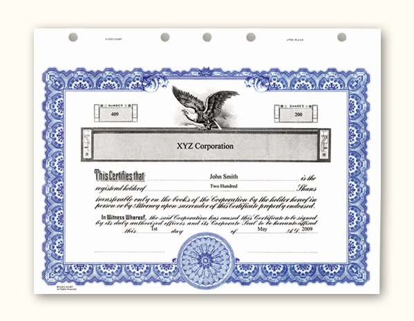 Corporate Seal Template Word Elegant Corporate Stock Certificates