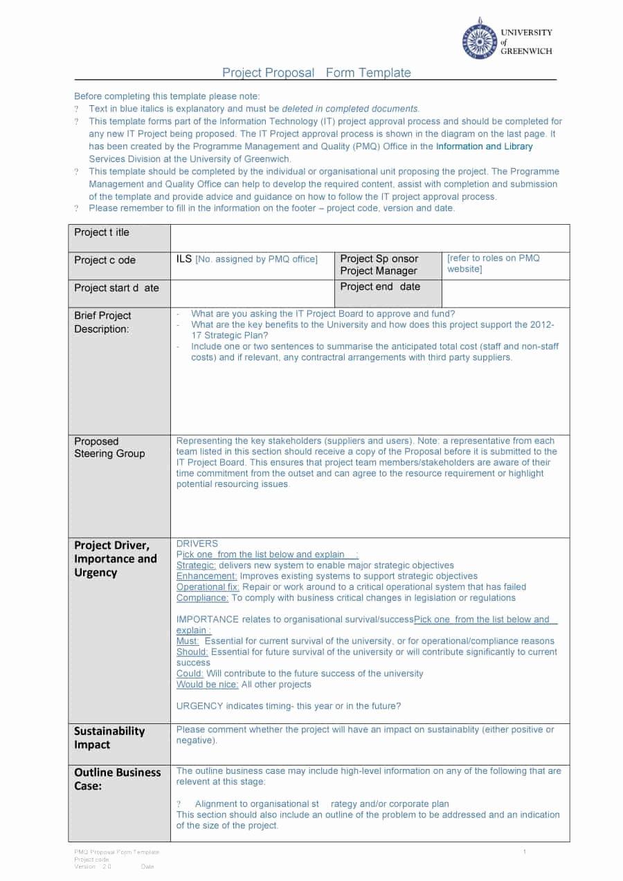 Corporate Video Proposal Template Beautiful 43 Professional Project Proposal Templates Template Lab