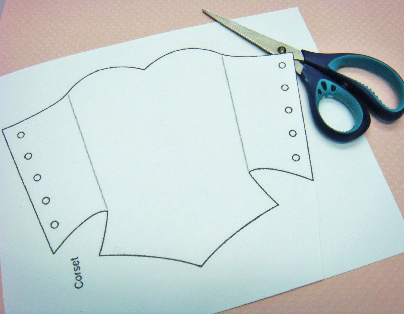 Corset Invitation Template Free Awesome Corset Template Doll Tutorials Sewing
