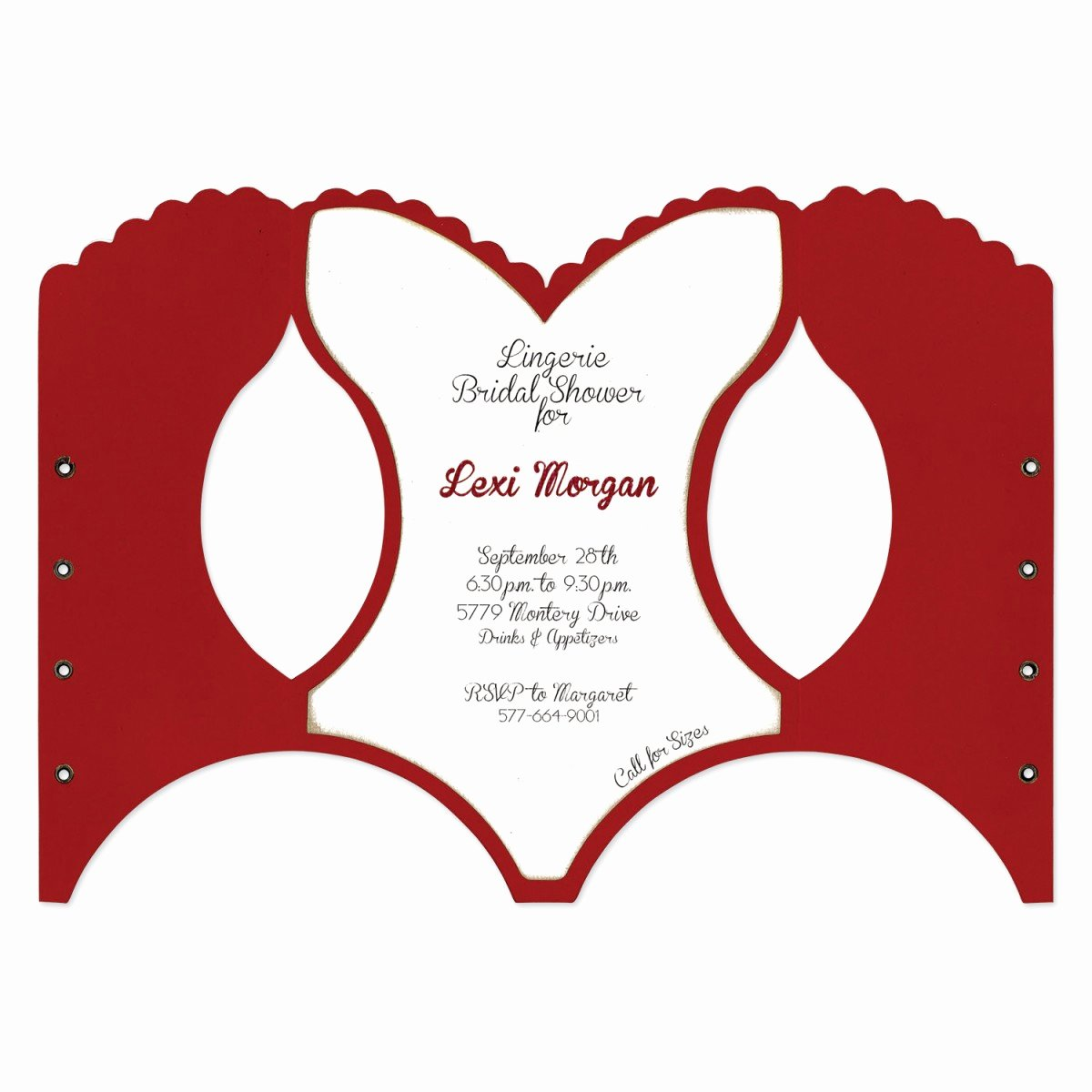 Corset Invitation Template Free Elegant 20 Of Die Cut Corset Template