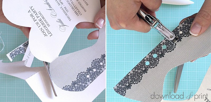 Corset Invitation Template Free Lovely Diy Lace Up Corset Invitation