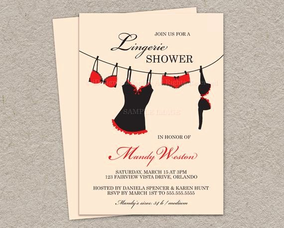 Corset Invitation Template Free Lovely Items Similar to Printable Lingerie Shower Invitation