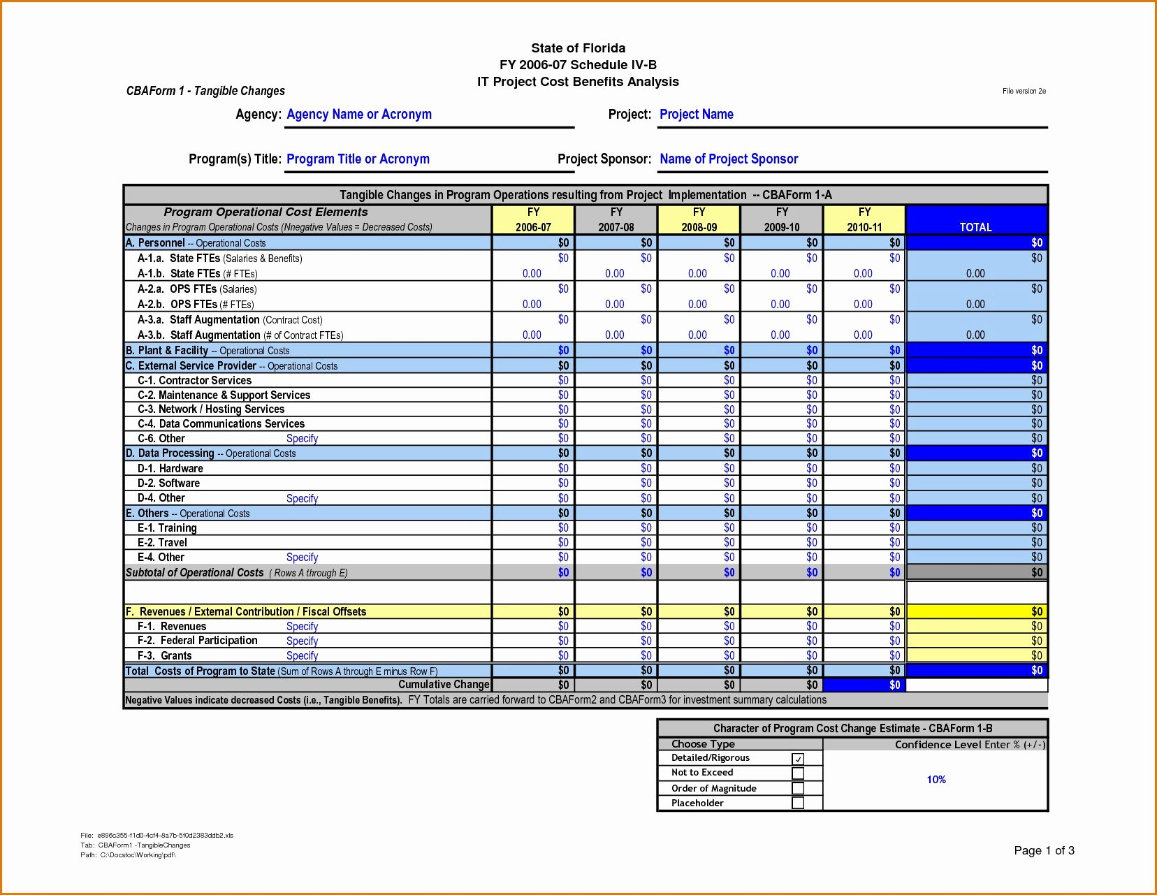 Cost Benefit Analysis Template Excel Microsoft New Cost Benefit Analysis Template In Excel – Guatemalago