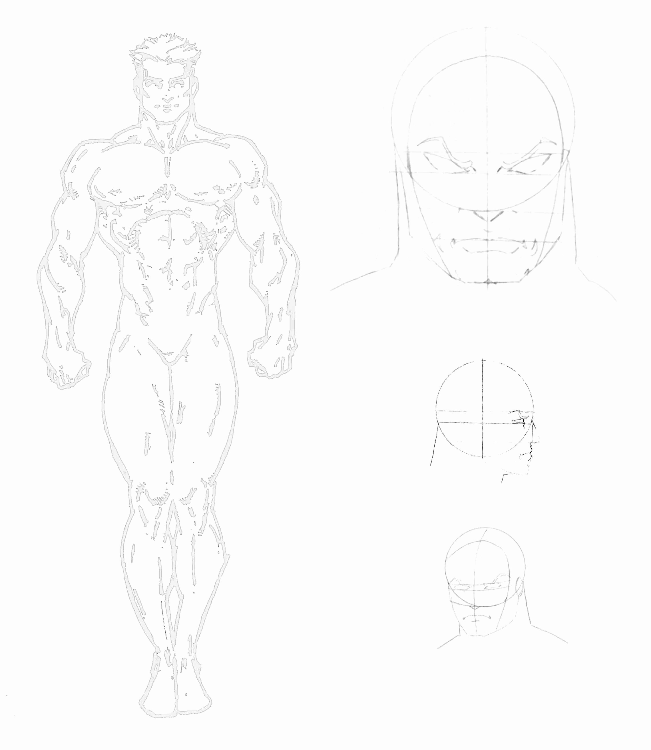 Costume Design Template Male Inspirational Main