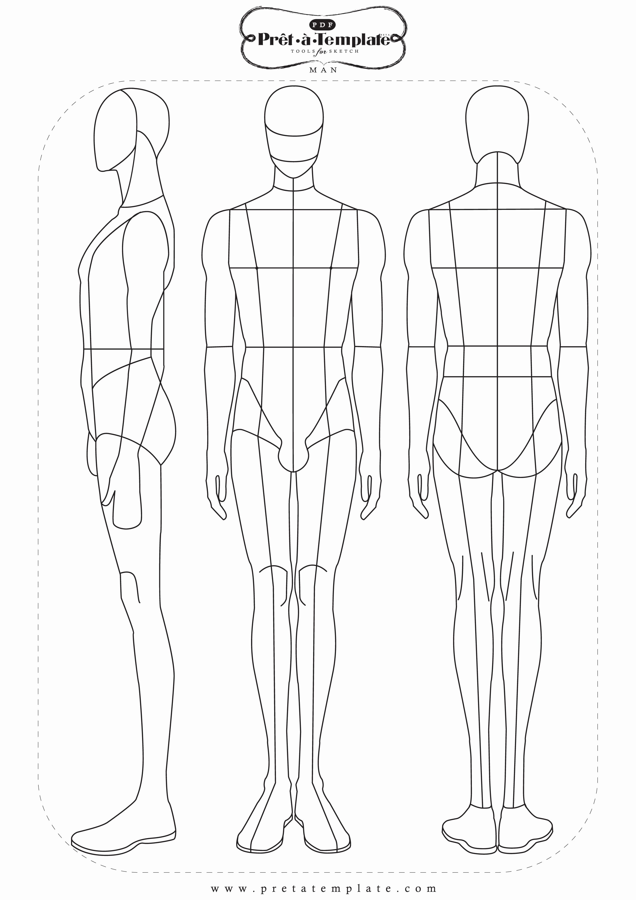 Costume Design Template Male Luxury Fashion Templates Fashion App Pret à Template Available