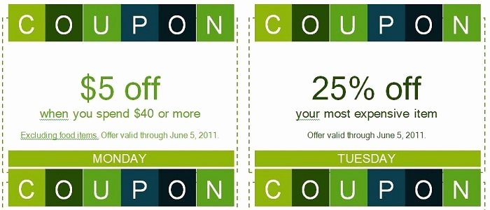 Coupon Template Word Best Of 50 Free Coupon Templates Template Lab