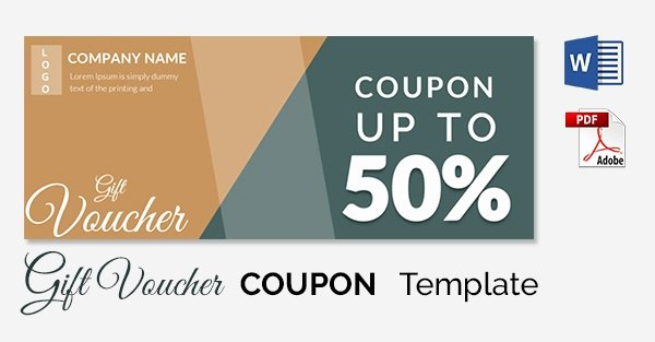 Coupon Template Word Best Of Blank Coupon Templates – 26 Free Psd Word Eps Jpeg