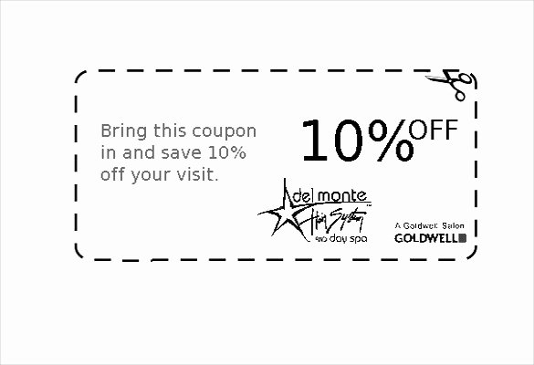 Coupon Template Word Lovely Free Coupon Templates for Word – Microsoft Coupon