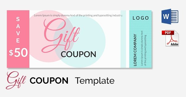 Coupon Template Word Unique Blank Coupon Templates – 26 Free Psd Word Eps Jpeg