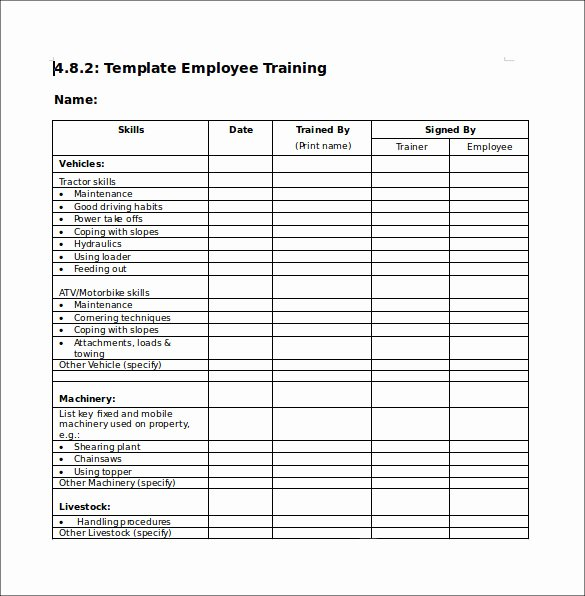 Course Evaluation Template Word Best Of Training Checklist Sample 14 Documents In Pdf Word