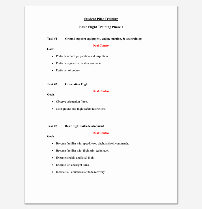 Course Outline Template Word Inspirational Training Course Outline Template 24 Free for Word & Pdf