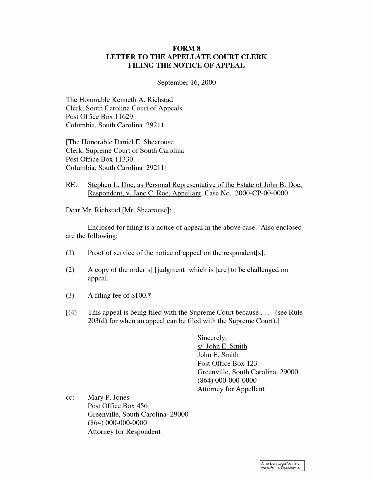 Court Appeal Letter Sample Best Of Best S Of the Courts Motion Examples Cover Letters