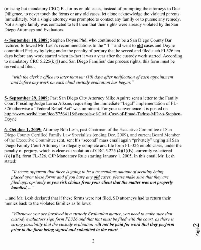 Court Appeal Letter Sample Fresh Plaint to Ca State Bar attorney W Robert Lesh Aka
