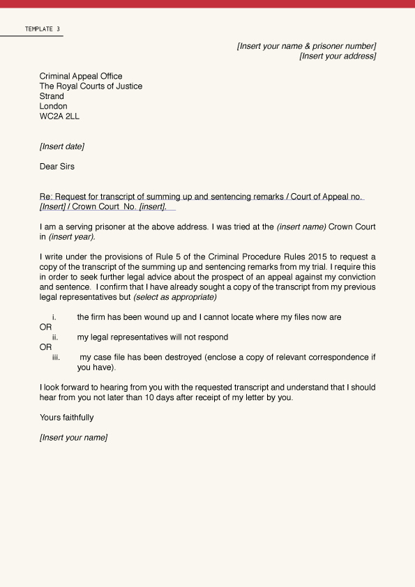 Court Appeal Letter Sample New 25 Of Letter to Court Template