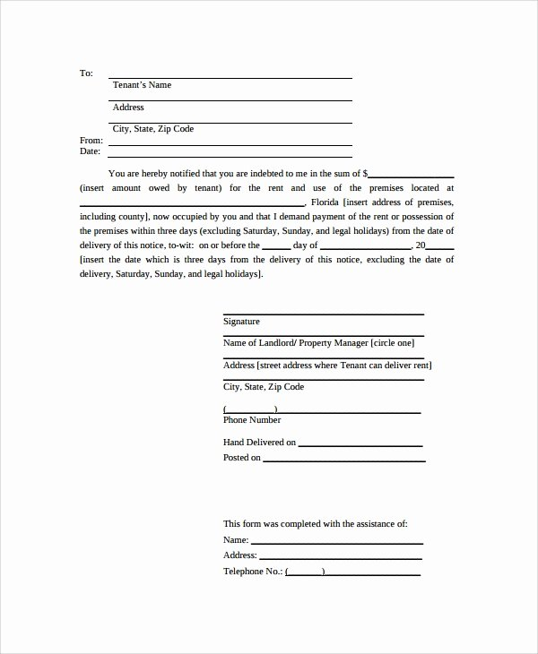 Court Letter format Lovely Sample Notice Letter 21 Documents In Pdf Word