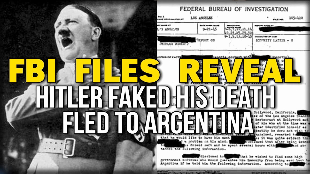Create A Fake Obituary Lovely Fbi Files Reveal Hitler Faked His Death Fled to Argentina