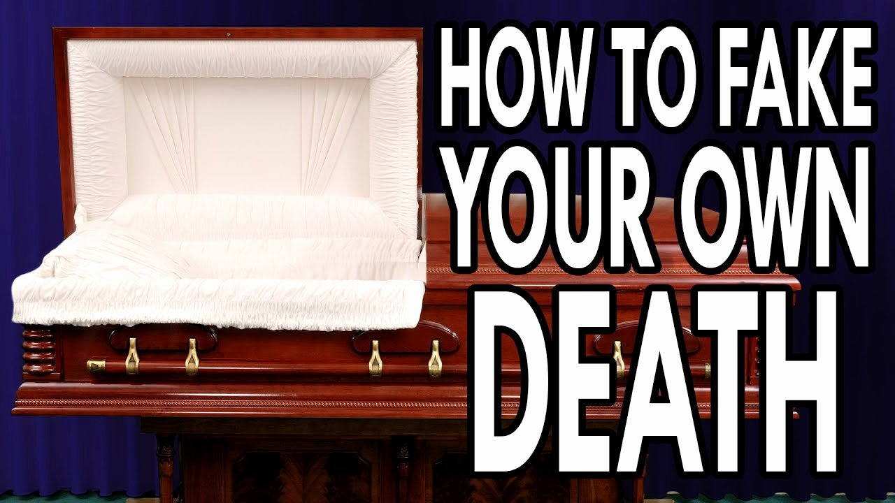 Create A Fake Obituary Unique How to Fake Your Own Death Epic How to