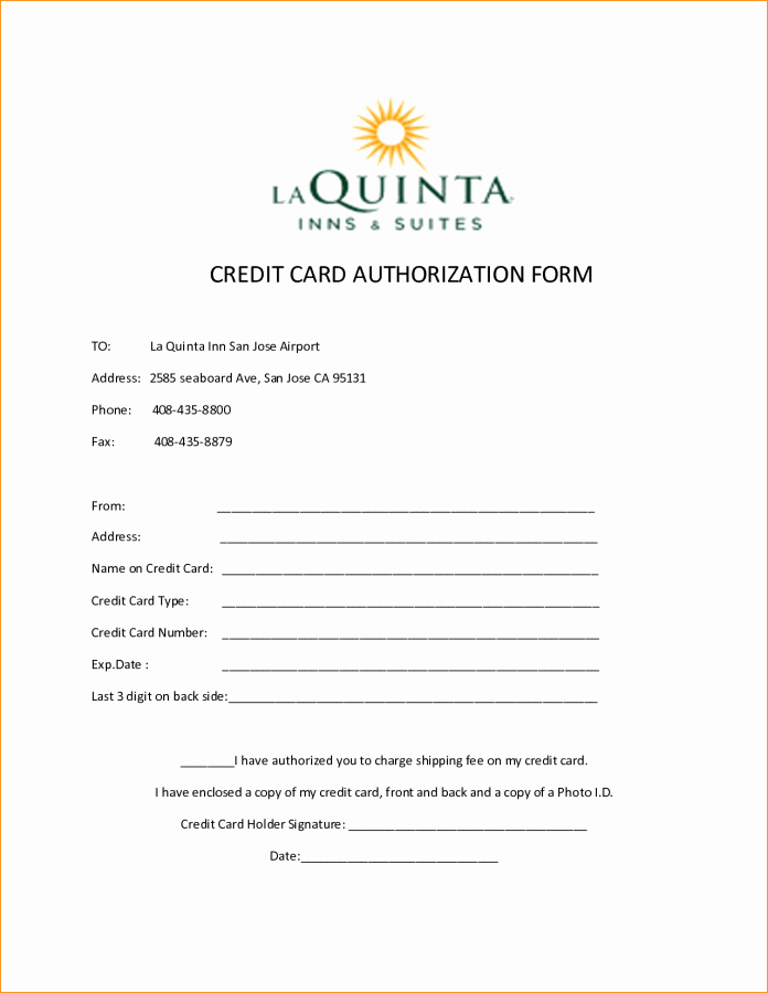Credit Card Authorization form Word Unique Elsevier social Sciences Education Redefined