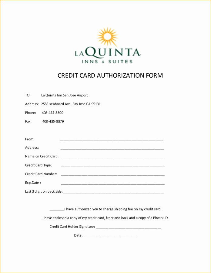 Credit Card Authorization form Word Unique Elsevier social Sciences Education Redefined