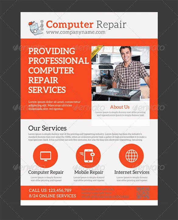 Credit Repair Flyer Template Awesome 26 Puter Repair Flyer Templates Psd Ai Eps format