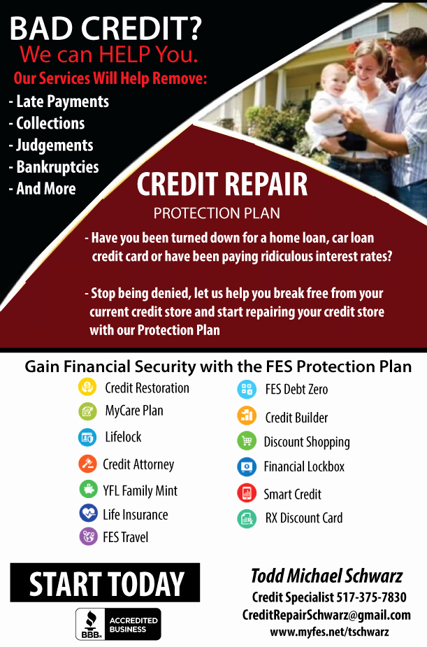 Credit Repair Flyer Template Elegant Business Flyers Thunderfish Media