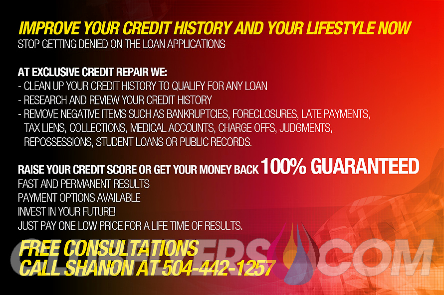 Credit Repair Flyer Template Lovely Exclusive Credit Repair