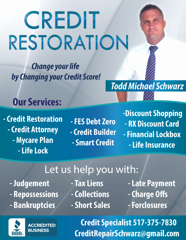 Credit Repair Flyer Template Luxury Business Flyers Thunderfish Media