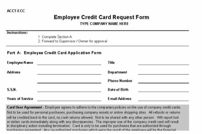 Credit Request form Fresh Internal Control Procedures for Small Business Checklist
