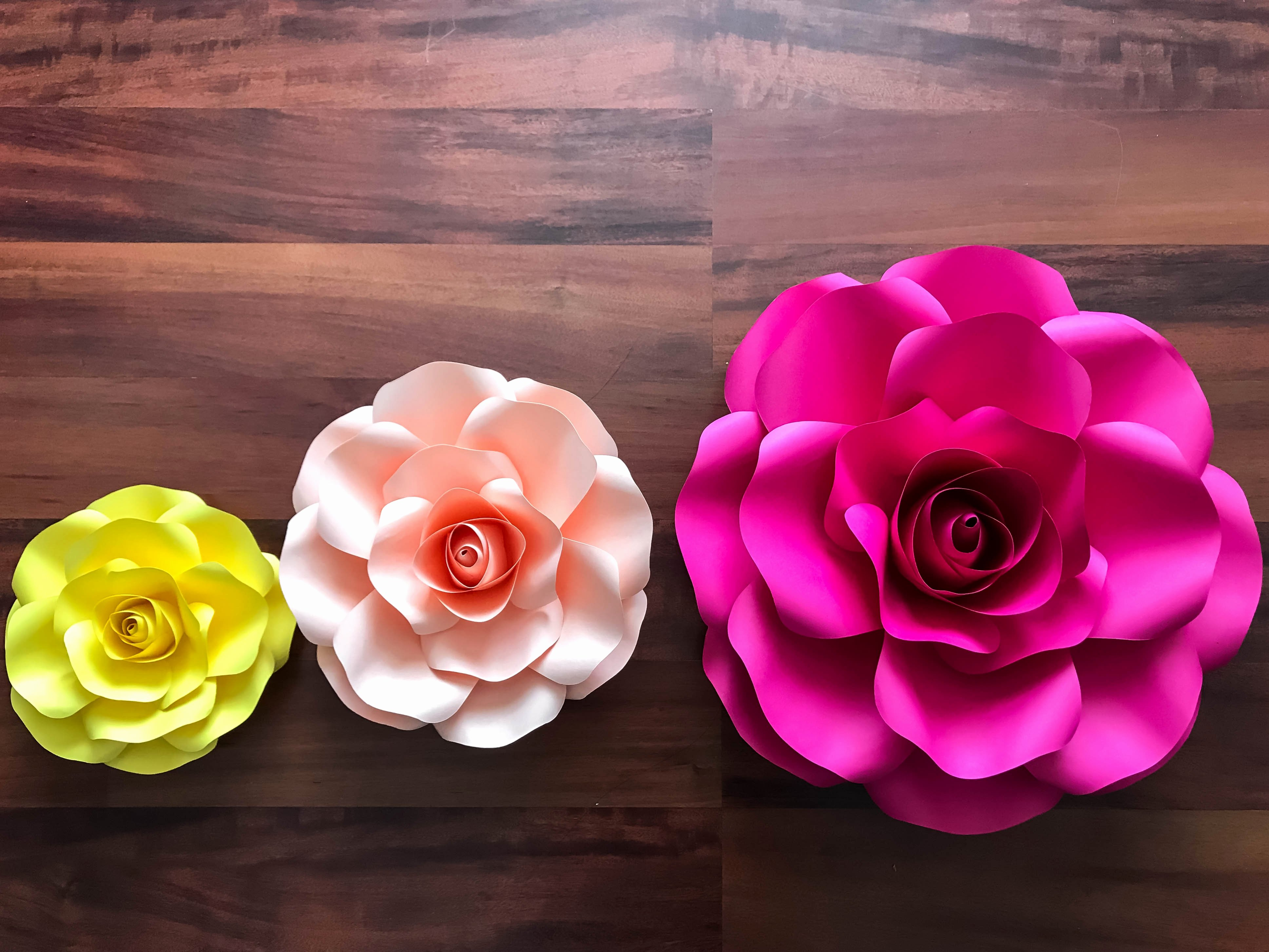 Cricut Paper Roses Beautiful thecraftysag Svg Png Bo Of 5 Sizes Rose Paper Flower