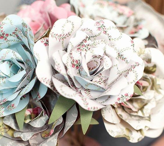 Cricut Paper Roses Elegant Make It now with Cricut Explore Cut Perfect Paper Roses