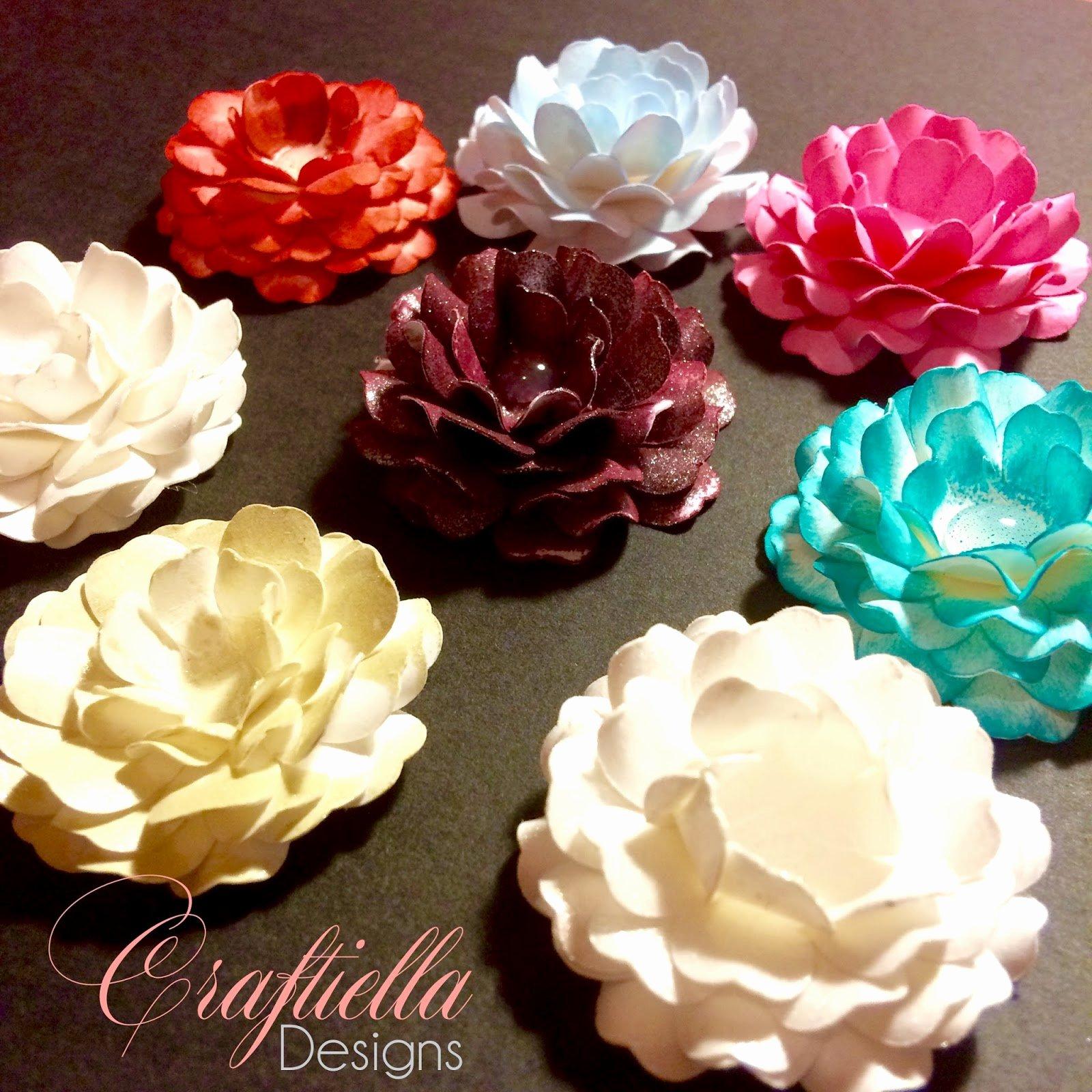 Cricut Paper Roses Elegant Mini Paper Flowers