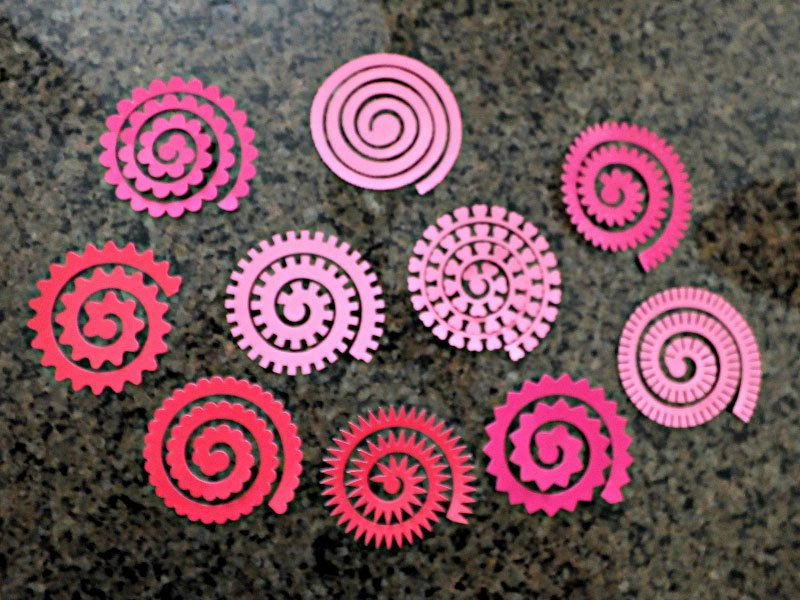 Cricut Paper Roses Unique Make Rolled Flowers Using the Cricut Quilling tool