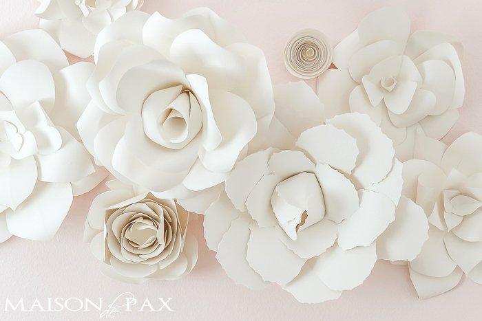 Cricut Paper Roses Unique Making Paper Flowers with Cricut
