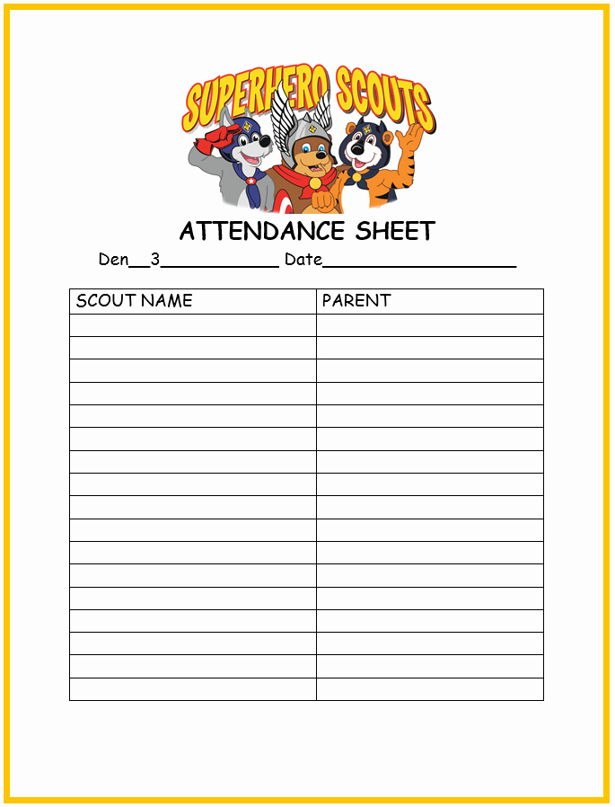 Cub Scout Calendar Template Lovely Not Just A Mom with Boys Cub Scout forms Free Printables