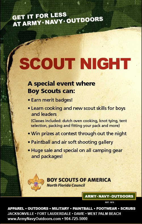 Cub Scout Flyer Template Beautiful the Pack 485 Zone