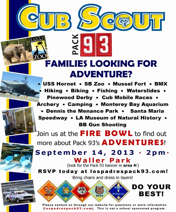 Cub Scout Flyer Template Best Of Cub Scout Join Night Flyer Google Search Let Our 15